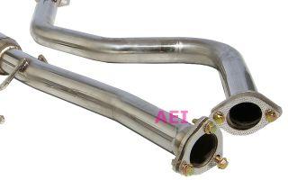 Honda Civic 2D / 4D 96 00 Complete Catback Exhaust Muffler + Header