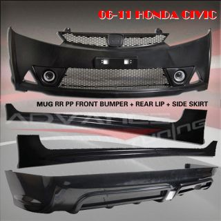 Honda Civic 4DR Sedan Mugen RR Bodykit Body Kit Front Bumper Rear Lip