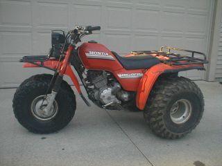 1985 Honda Big Red 3 Wheeler ATC 250ES 5 Speed Utilty 4 Stroke ATV