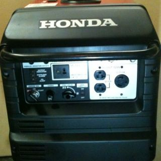 Honda Generator eu3000is 3000 Generator Camping Rv Travel Trailer
