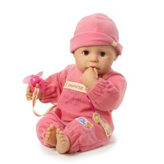 Little CHOU CHOU Play Doll   Pink Toys & Games
