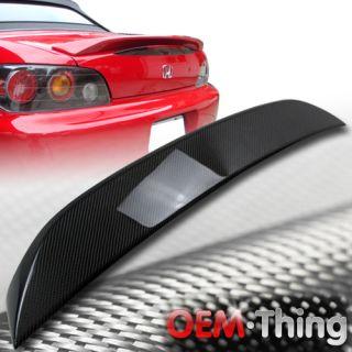 Carbon Fiber Honda S2000 OE Type Rear Trunk Spoiler Wing New 00 09
