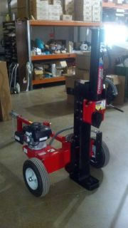 Bilt 27 Ton Gas Log Firewood Hydraulic Splitter w Honda Engine