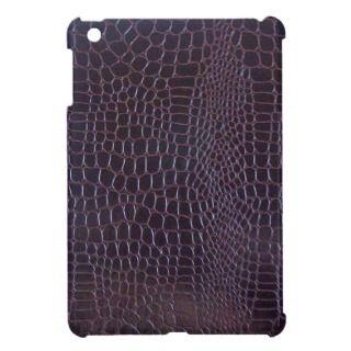 Crocodile Leather iPad Mini Case