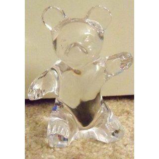 Daum France Glass Crystal Teddy Bear 4
