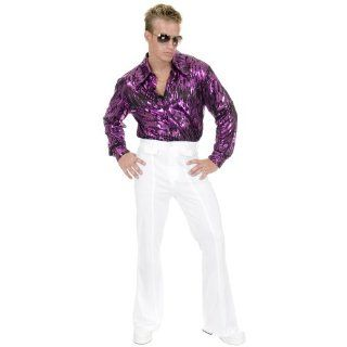 Lets Party By Charades Costumes White Disco Pants Adult