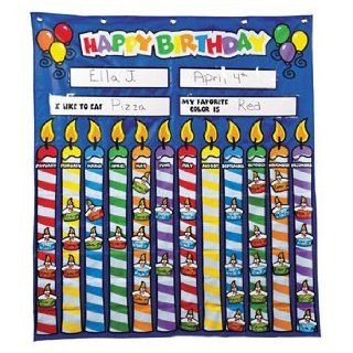 Birthday Pocket Chart   Teacher Resources & Flip & Pocket