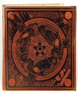 Book of Shadows Leather Blank Book of Shadows Honey Mead Brown