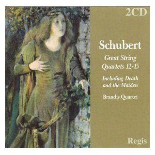 Schubert String Quartets 12 15 Brandis Quartet 2CD Franz