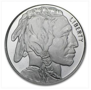 oz Buffalo 999 Fine Silver Rounds Half Ounce