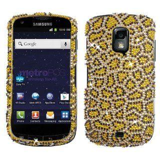 Leopard Gold Cheetah Bling Rhinestone Crystal Case Cover