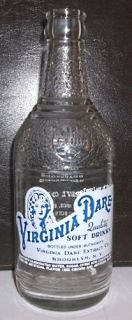 Dare Quality Soft Drinks Berkeys Bottling Co Hooversville PA 12 Oz ACL