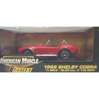 Ertl American Muscle 10 Fastest 32760 1966 Shelby Cobra