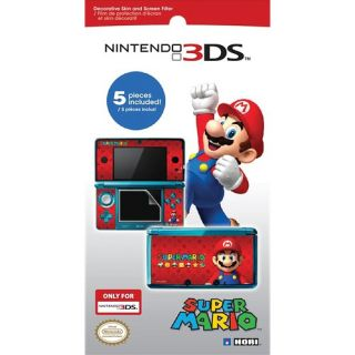 Hori Super Mario Screen Filter and Skin Set Nintendo 3DS