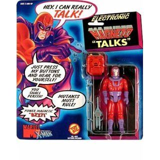 Electronic Talking Magneto X men Action Figure: Toys