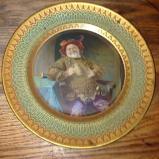 Schwarzenbach Brewing Co Beer Tray Hornell Ny Select & Crystal Ale Man