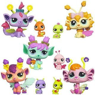 Hasbro Littlest Pet Shop Sparkle Pets (Pack of 2) Toys