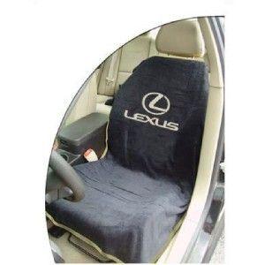 Lexus Car Seat Cover Towel Black