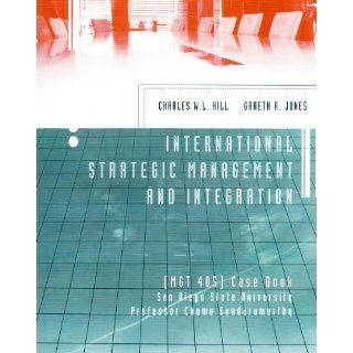 International Strategic Management and Integration ([MGT 405] Case