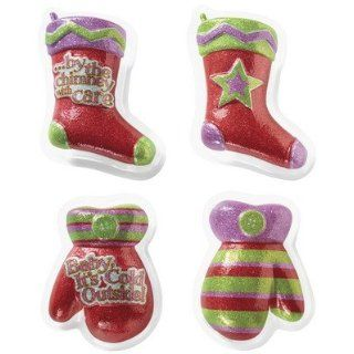 Christmas Festive Mitten and Stocking DecoPlac Layon