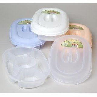 5 Compartment Oval Food Storage Container Case Pack 36