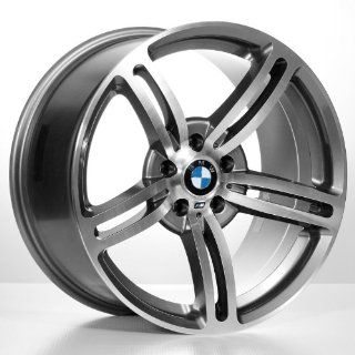 19 M6 Staggered Bmw Wheels & Tires Pkg   Gun Metal Grey Color (4Pcs
