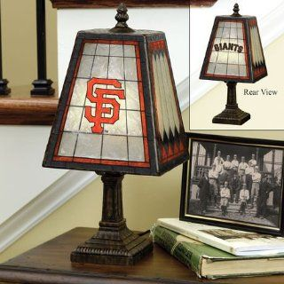 San Francisco Giants Glass Table 14 Lamp Sports