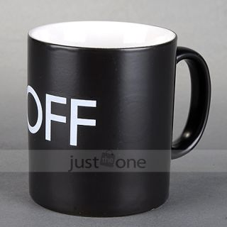 Fantastic Heat Changing Hot Cold on Off Sensitive Magical Mug Style