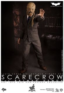 Hot Toys Batman Demon Scarecrow Exclusive 10th Anniversary Toy Fairs