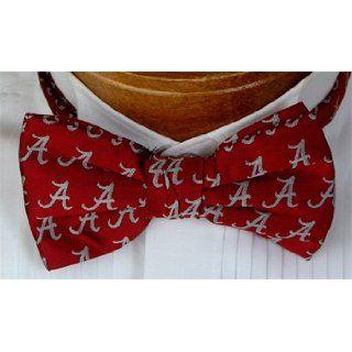 Alabama Bow Tie   University of Alabama Crimson Pre Tied
