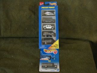 Toy Cars Trucks Hotwheels Police