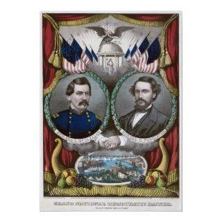 American Civil War The Fall of Richmond April 1865 Print