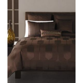 New Hotel Collection Espresso Links Full Queen Comforter Duvet Cover