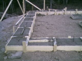 To Build Concrete Cement Basement Footings Garage House Shed Any Size