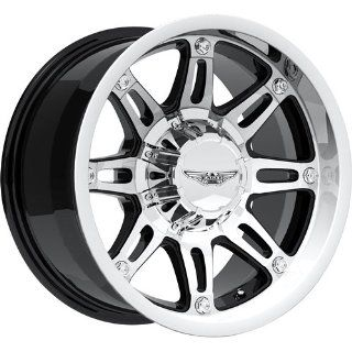 American Eagle 27 20 Super Finish Black Wheel / Rim 5x150 with a 15mm