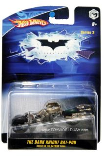 Hot Wheels Batman Series 2 The Dark Knight Bat Pod