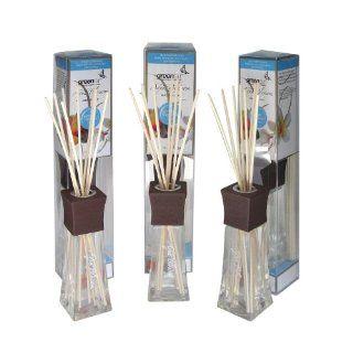 Greenair All Natural Reed Diffuser Set, Aqua Blossom
