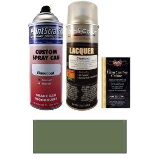 12.5 Oz. Jade Green Metallic Spray Can Paint Kit for 2007 Lexus LS 460