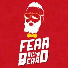 James Harden Fear The Beard Tshirt Houston Rockets Basketball OKC