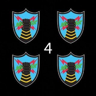 US Army Strategic Command USA Element SSI 3 (4)Four Decal Sticker Lot