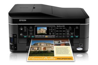 Back to home page  Listed as Epson WorkForce 645 All In One Inkjet