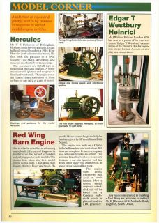 How To Book Make Build Stationary Engine Model Making Manual Picture