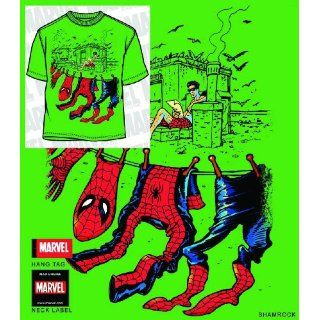 SPIDER MAN AIR DRY KELLY GREEN PX T/S MED (C 0 1 3
