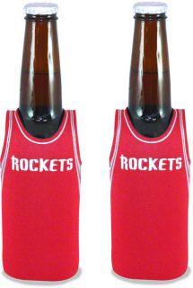Houston Rockets Bottle Jersey Koozie 2 Pack