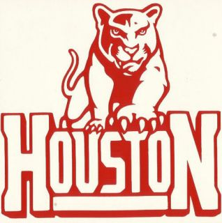 Houston Cougars Vinyl Decal Sticker