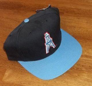 Vintage Houston Oilers NFL Snapback Cap