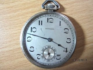 Vintage E Howard w G F Pocket Watch C 1921