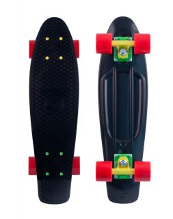 Penny Skateboards Rasta Black Yellow Green Red Boards 22