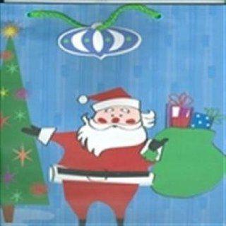 Retro Santa Bag Large Christmas Gift Bag Case Pack 96
