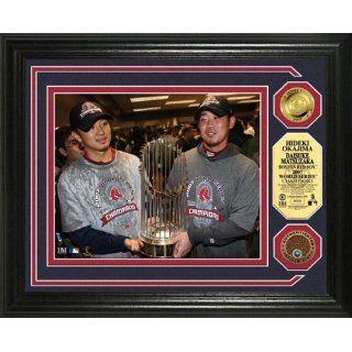 Boston Red Sox DAISUKE MATSUZAKA & HIDEKI OKAJIMA 2007